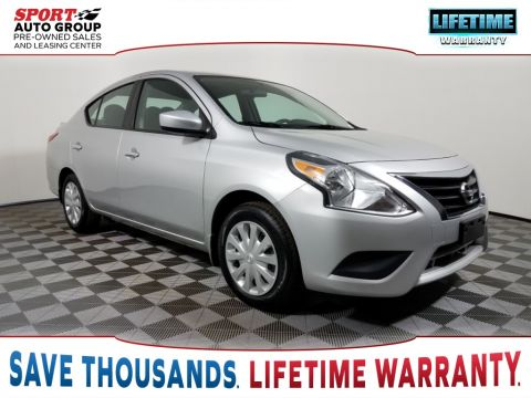 Pre-Owned 2016 Nissan Versa 1.6 SV FWD 4D Sedan