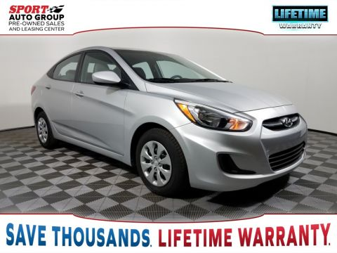Pre-Owned 2016 Hyundai Accent SE FWD 4D Sedan