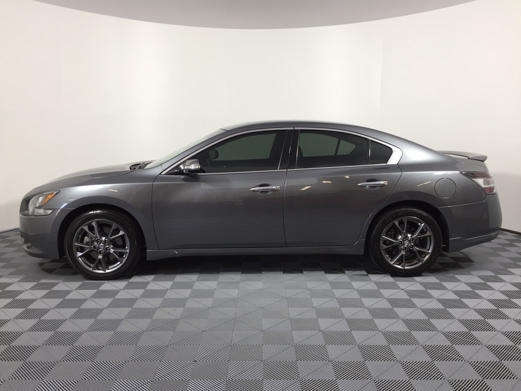 Used 2014 nissan maxima 35 s 4d sedan in orlando zt489975 pre owned 2014 nissan maxima 35 s vanachro Image collections